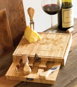 Mud Pie Hidden Cheese Board Set
