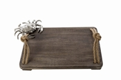 Mud Pie Large Crab Wood Cutting Board - CLOSEOUT