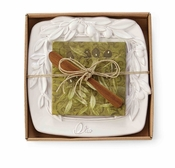 Mud Pie Olive Cheese Tray Set