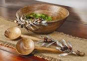 Mud Pie Olive Serving Bowl - CLOSEOUT
