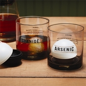 Name Your Poison Set Of 2 Old Fashion Glasses In Gift Box