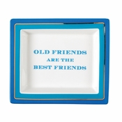 Old Friends Tray In Gift Box
