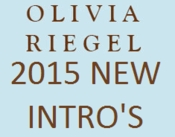 Olivia Riegel 2015 Collection - New Introductions
