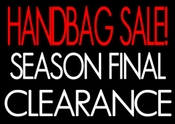 "<b><font color=""#FF0000"">HANDBAG SALE - SEASON FINAL CLEARANCE</font></b>"