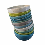 Stacked Bowls Large Sculpture - CLOSEOUT