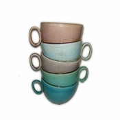 Stacked Cups Large Sculpture - CLOSEOUT