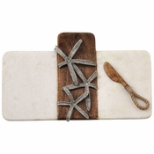 Starfish Marble & Wood Board Set