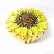 Sunflower Jewelry Box
