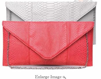 Urban Expressions Bailey Classic Envelope (10 Colors to Choose From)