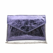 Urban Expressions Bellini Pewter Clutch - SPECIAL