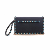 Urban Expressions Indie Clutch Black - SPECIAL