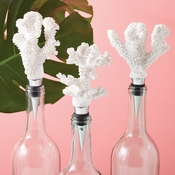 White Coral Bottle Stopper (Sold Each)