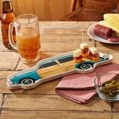 Woody Car Cheese Plate