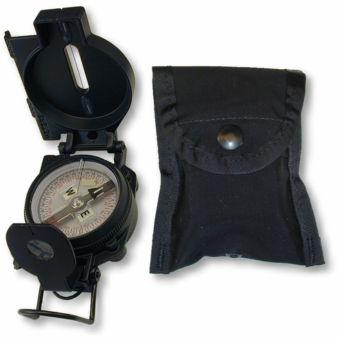 Black S.W.A.T. Tritium Lensatic Compass
