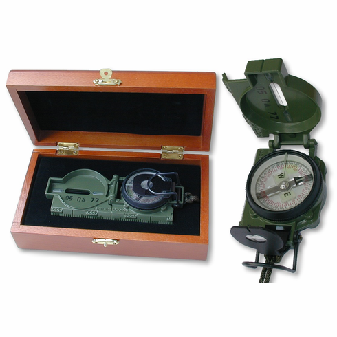 US Military Tritium Compass Giftboxed