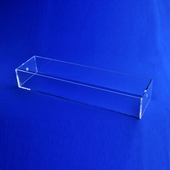 Acrylic 24in. Compartment Wide Tray