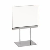 Acrylic Sign Holder with Base 7 x 5-1/2