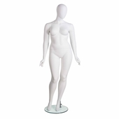 Amber Plus Size Mannequin with Oval Head
