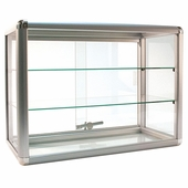 Counter Display Case Aluminum Frame 24in.W