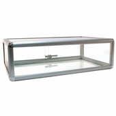 Counter Display Case Aluminum Frame 30in.W
