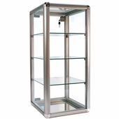 Counter Display Case Aluminum Frame 27in.H