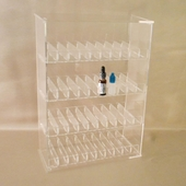 E-Cig Juice Bottle Display Case (Acrylic)