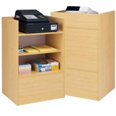 Economy Well Top Register Stand