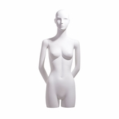Female 3/4 Body Form, Abstract Head, Arms Behind Back