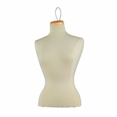 Female Blouse Form Tailor Bust, Neckblock and Wire Loop