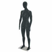 Flexible Female Mannequin Grey