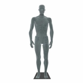Flexible Mannequin Male Grey