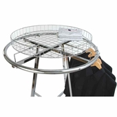 Grid Basket Rack Topper for Round Rack