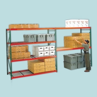Heavy Duty Bulk Shelving