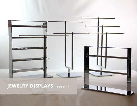 Metal Jewelry Displays