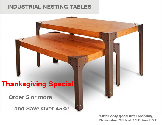 Industrial Nesting Tables