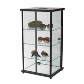 Lighted Square Counter Display Case
