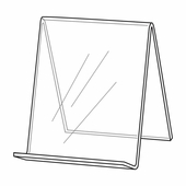 Quick Ship Acrylic Book Easel 5-1/2in.H