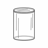 Quick Ship Acrylic Round Pedestals 2in. Diameter