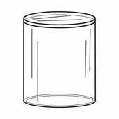 Quick Ship Acrylic Round Pedestals 3in. Diameter