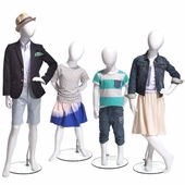Ready To Wear Kids Mannequins