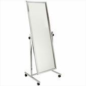 Single Tilted Floor Standing Mirror