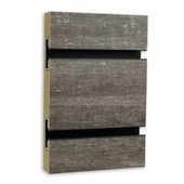 Slatwall Panel Old Barnwood HPL
