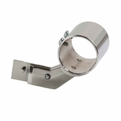 Snap-On Socket For Round Rail