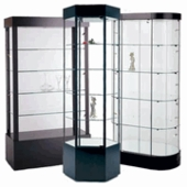 Tower Display Cases