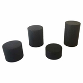 Wood 4 pc Round Stands