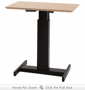 Conset 501-19 Center Laminate Electric Sit-Stand Desk