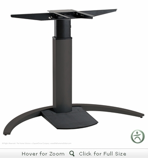 Conset 501-19 8X120 Design Electric Sit-Stand Desk Base