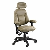 BodyBilt 3407 High Back Petite Executive Chair with Headrest