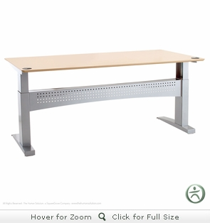 Conset 501-11 Laminate Electric Sit-Stand Desk