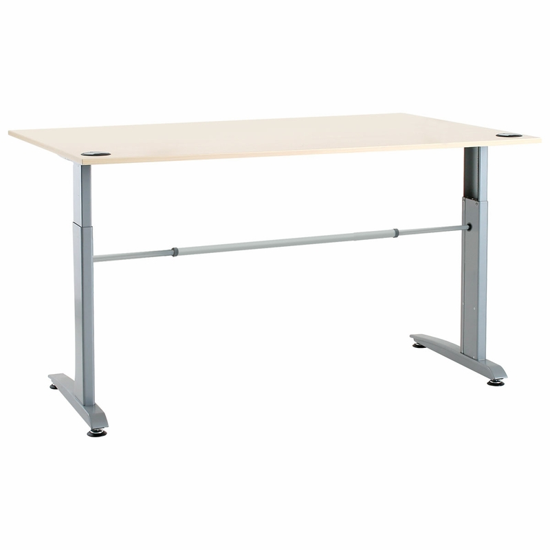 Conset 501 15 Laminate Electric Sit Stand Desk Shop